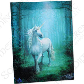 Spirit Earth Forest Unicorn Wall Canvas