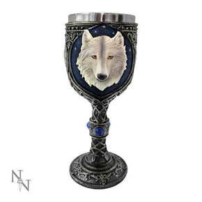 Spirit Earth Ghost Wolf Goblet Small