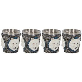 Spirit Earth Ghost Wolf Shot Glasses (Single)