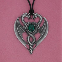 Spirit Earth Green Dragon Pendant