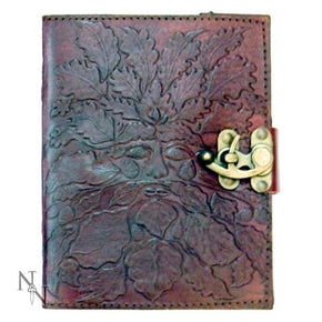 Spirit Earth Greenman Leather Journal