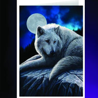Spirit Earth Guardian of the North Greeting Card