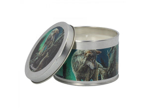 Spirit Earth Guidance Tin Candle