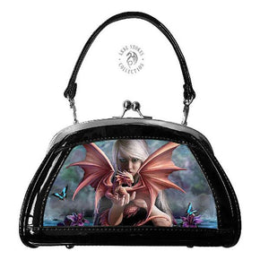 Spirit Earth Handbag Anne Stokes 3D Evening Bags - Dragon Kin