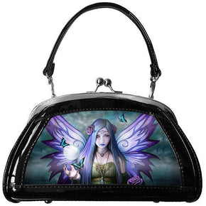 Spirit Earth Handbag Anne Stokes 3D Evening Bags - Mystic Aura