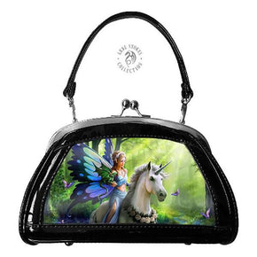 Spirit Earth Handbag Anne Stokes 3D Evening Bags - Realm of Enchantment