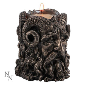 Spirit Earth Horned God T-light Holder