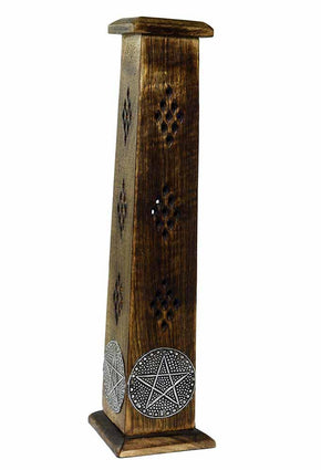 Spirit Earth Incense Box with Pentagram