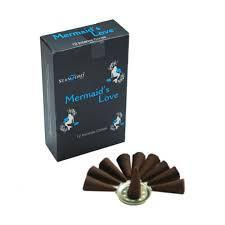 Spirit Earth Incense Stamford Black Mermaids Love Incense Cones