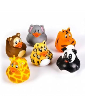 Spirit Earth Jungle Animal Rubber Duck