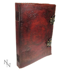 Spirit Earth Large Leather Book of Shadows
