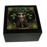 Spirit Earth Large Oak king tile box