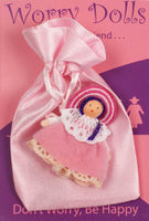 Spirit Earth Light Pink Worry Doll
