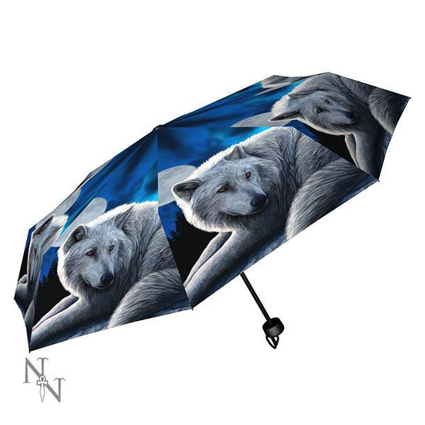 Spirit Earth Lisa Parker - Guardian of the North Umbrella