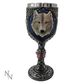 Spirit Earth Lone Wolf Goblet