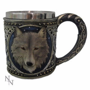 Spirit Earth Lone Wolf Tankard