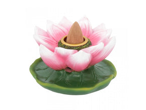 Spirit Earth Lotus of Purity Backflow Incense Burner
