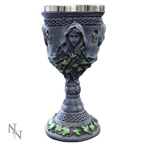 Spirit Earth Maiden Mother Crone Chalice