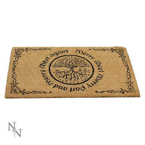 Spirit Earth Merry Meet Doormat