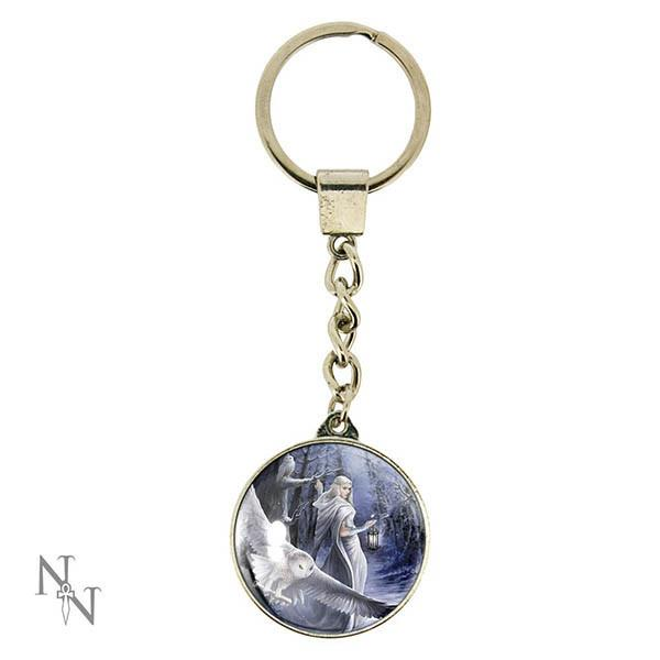 Spirit Earth Midnight Messenger Keyring