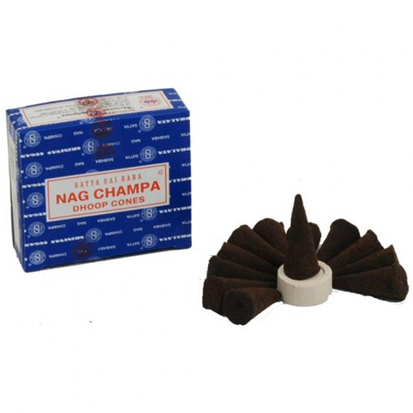 Spirit Earth Nag Champa Incense Cones