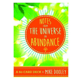 Spirit Earth Notes From The Universe on Abundance