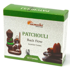 Spirit Earth Patchouli Backflow Incense Cones