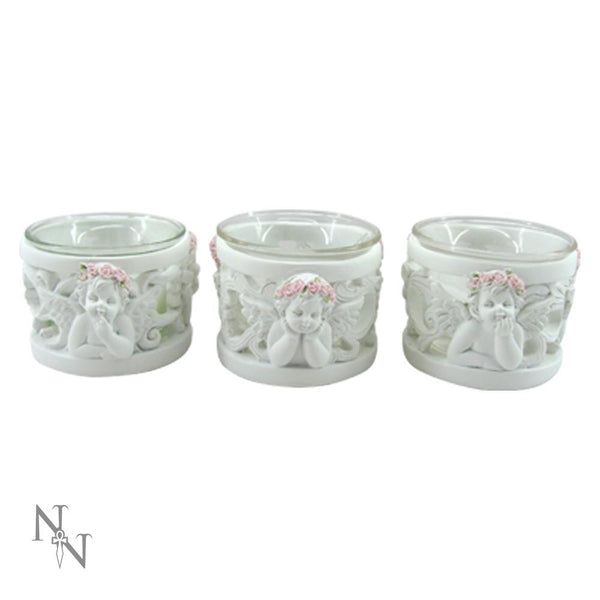Spirit Earth Pink Rose Tealight Holder