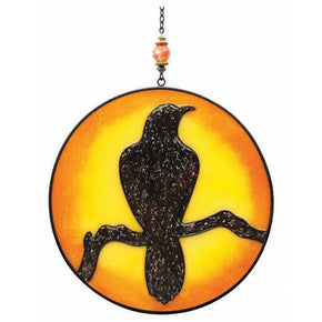 Spirit Earth Raven Light Catcher