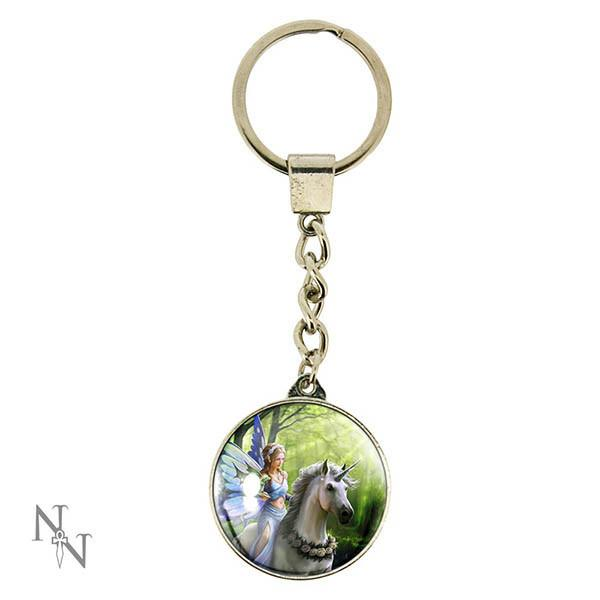 Spirit Earth Realm of Enchantment Keyring
