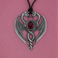 Spirit Earth Red Dragon Pendant