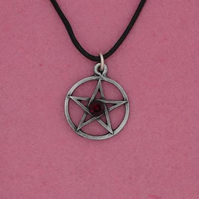 Spirit Earth Red Pentagram Pendant