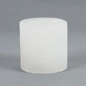 Spirit Earth Selenite Tealight Holder
