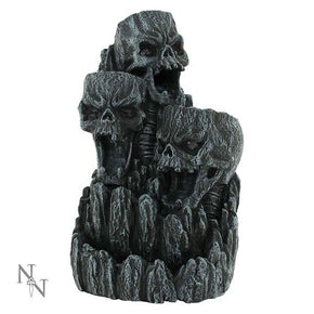 Spirit Earth Skull Backflow Incense Burner