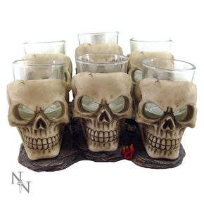 Spirit Earth Skull Shooter Glass set of 6