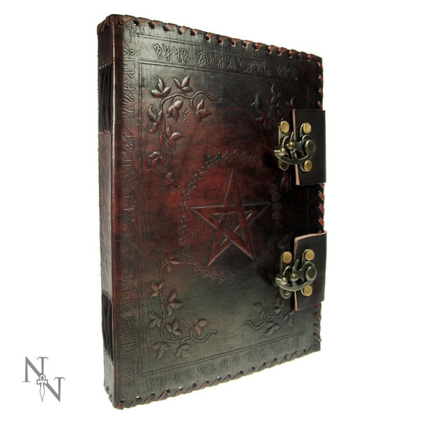 Spirit Earth Small Book of Shadows - Leather