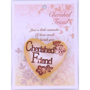 Spirit Earth Small Love Heart - Cherished Friend