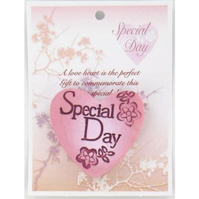 Spirit Earth Small Love Heart - Special Day