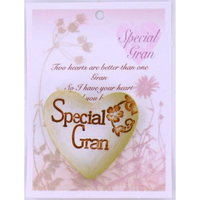 Spirit Earth Small Love Heart - Special Gran