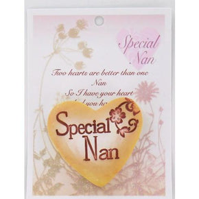 Spirit Earth Small Love Heart - Special Nan