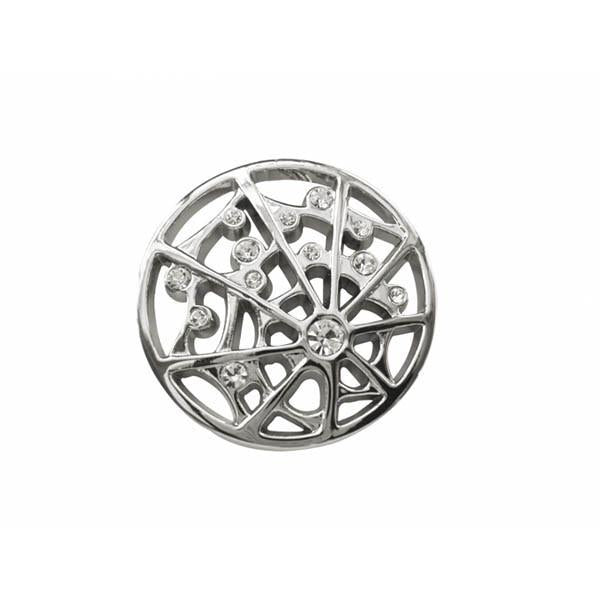 Spirit Earth Spiders Web Keyring