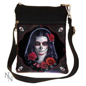 Spirit Earth Sugar Skull Shoulder Bag (JR)