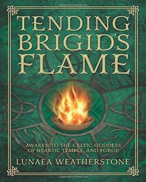 Spirit Earth Tending Brigid's Flame