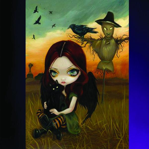Spirit Earth The Scarecrow Greeting Card