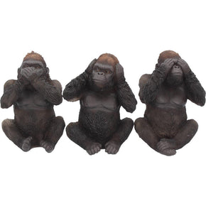 Spirit Earth Three Wise Gorillas