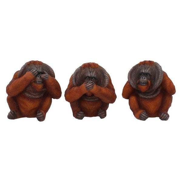 Spirit Earth Three Wise Orangutans