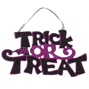 Spirit Earth Trick or Treat Sign