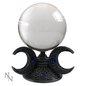Spirit Earth Triple Moon Crystal Ball Set