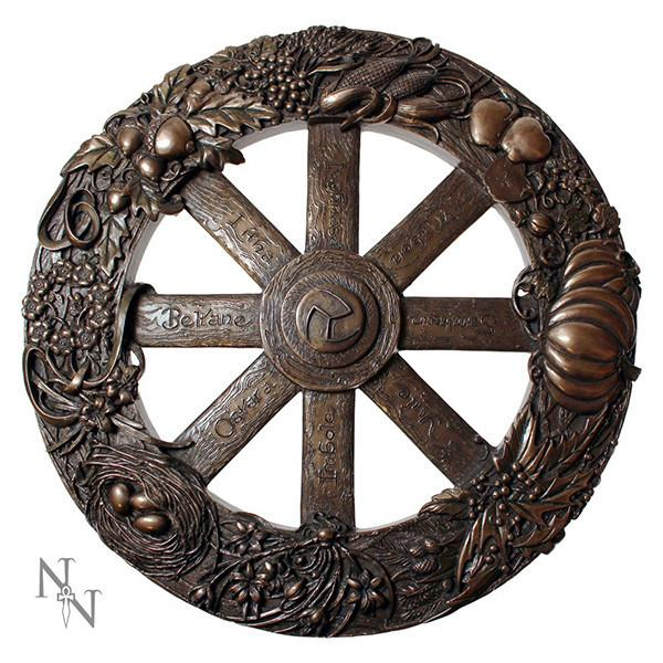 Spirit Earth Wheel of the Year Plaque