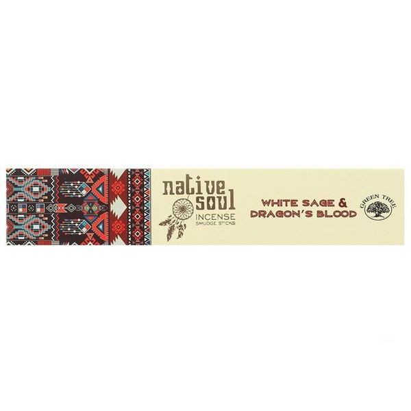 Spirit Earth White Sage & Dragon's Blood Incense Sticks